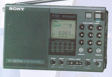 The Sony 7600 Series Page Icf Sw7600